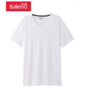 PLUS会员:Baleno 班尼路 88802702 男士V领短袖T恤 *3件49元包邮(合16.3元/件)