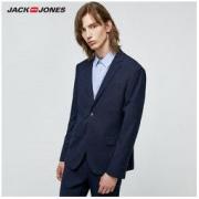 JACK&JONES 杰克琼斯 219372502 男士修身西服外套