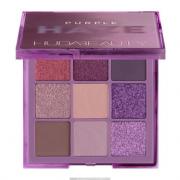 Huda Beauty Haze薄雾痴迷系列九宫格眼影盘 Purple 5.8g