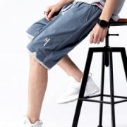VZI  男士夏季冰丝薄款短裤19.9元包邮