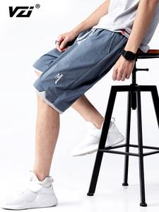 VZI  男士夏季冰丝薄款短裤
