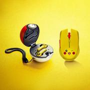 RAZER 雷蛇 宝可梦皮卡丘限定款 无线鼠标 精灵球 真无线耳机 套装