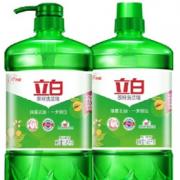 88VIP!Liby 立白 除菌茶籽洗洁精 1.45KG*2瓶¥10.10 3.3折 比上一次爆料降低 ¥3.8
