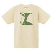 mont·bell 2104671 男女同款 纯棉印花T恤
