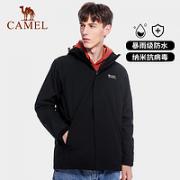 CAMEL 骆驼 A0W218165 男女款户外冲锋衣