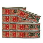 Eagle-Coin 鹰金钱 鲮魂豆豉鲮鱼罐头184g*4罐