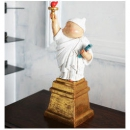 XQ 稀奇 瞿广慈《自由男神》41×16×13cm 3500kg 玻璃钢 限量999件4320元