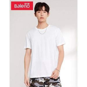 PLUS会员:Baleno 班尼路 88802215 男士 短袖T恤*3件