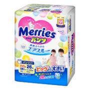 Merries 妙而舒 婴儿拉拉裤 XXL 26片