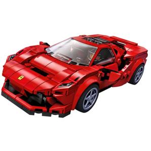 LEGO 乐高Speed Champions赛车系列76895 法拉利 F8 Tributo跑车