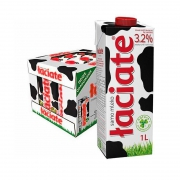 Laciate 兰雀 全脂纯牛奶 1L*12盒54元