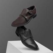 Ecco 爱步 Melbourne墨本 男士真皮孟克鞋直邮含税到手540元(天猫1799元)