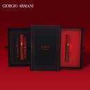 Armani 阿玛尼 红管唇釉丝绒哑光双色口红套装礼盒 (405番茄红+400阿玛尼红)