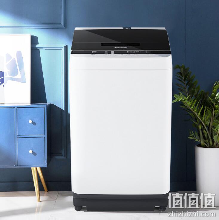 Panasonic 松下 XQB100-TSWTS 波轮洗衣机全自动10kg 节水立体漂 宽瀑布速流 超大容量 桶洗净