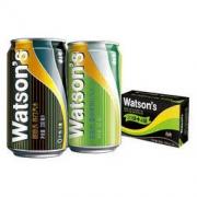 Watsons 屈臣氏 苏打汽水混合口味(苏打汽水20罐+香草味4罐)330mlx24