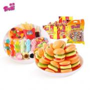 trolli 德国口力 经典软糖 汉堡540g+欢乐派对500g