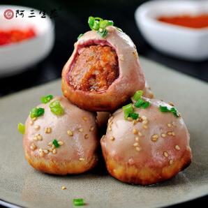 PLUS会员:品阿三生煎 小锅麻辣猪肉生煎 516g