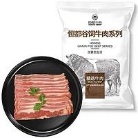 HONDO BEEF 恒都牛肉 国产煎烤涮肥牛片 250g*2