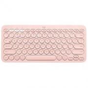 logitech 罗技 K380 79键 蓝牙无线薄膜键盘 茱萸粉 无光179元