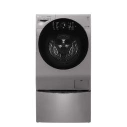 LG 乐金 14KG大容量洗烘 韩国原装 蒸汽除菌洗 6种智能手洗 滚筒波轮二合一母婴洗衣机 银WDRH657C7HW