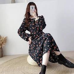 TONLION 唐狮 62542FC9104417615 女士时尚碎花连衣裙