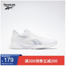 Reebok 锐步 Lite Plus 2.0 中性跑鞋 FU7583 淡灰/白色 42.5