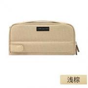 KOKUYO 国誉 PCS133LS 一米新纯 多功能笔袋 浅棕色
