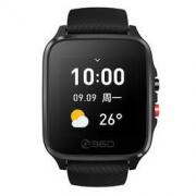 360 OL201 智能手表 2G 45mm 黑色 硅胶表带(ECG、PPG、GPS)