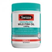 Swisse 无腥味深海鱼油软胶囊 1000mg*400粒79元进口日价