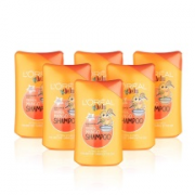 L'Oreal Paris 欧莱雅 儿童洗发水 250ml*6瓶 热带芒果香