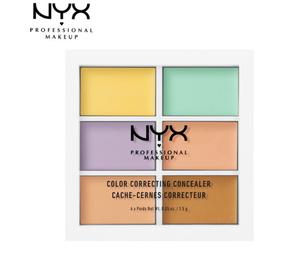 NYX Professional Makeup 6色修容遮瑕盘9g