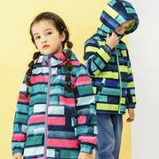 Souhait 水孩儿 儿童菱形冲锋衣外套¥109.00 2.7折 比上一次爆料降低 ¥20
