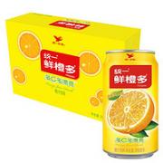 Uni-President 统一 鲜橙多 罐装橙汁 310ML*24罐