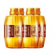 PLUS会员:胡姬花 古法小榨花生油食用油 400ml*4瓶装39.9元包邮(多重优惠)