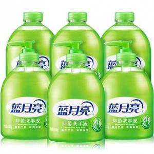 Bluemoon 蓝月亮 芦荟抑菌洗手液 500gX6瓶