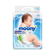 88vip!unicharm 尤妮佳 moony畅透系列 婴儿纸尿裤 S84片