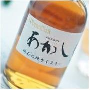 AKASHI 明石 日本威士忌原瓶进口日威洋酒 明石AKASHI白橡木调和威士忌 500ml 单支装 送闻香杯2支