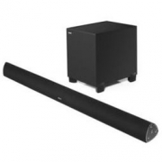 EDIFIER 漫步者 B7 专业电视音响 家庭影院 无线蓝牙回音壁 配备无线低音炮的全功能SOUNDBAR 黑色