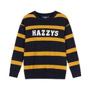 HAZZYS 哈吉斯 男童条纹针织衫¥129.00 2.3折