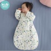 kub 可优比 KUB可优比宝宝睡袋夏季薄款春秋新生儿防踢被睡袋棉纱布婴儿睡袋