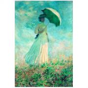 Artron 雅昌 莫奈《阳伞下右转身的女人》79×113cm 油画布 装饰画1100元