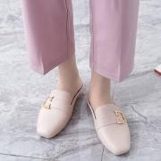 Langsha 浪莎 女士包头凉鞋