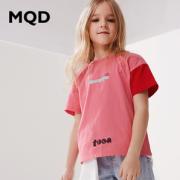 PLUS会员!MQD 马骑顿 女童短袖T恤¥29.00 1.4折