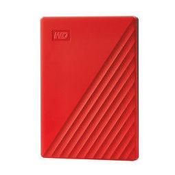 Western Digital 西部数据 My Passport系列 随行版 2.5英寸移动硬盘 4TB