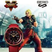 SEIKO 精工 x 街霸 KEN 男士腕表 SRPF20K1990元包邮