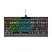 USCORSAIR 美商海盗船 K70 RGB TKL 竞技版 87键机械键盘(RGB、银轴)989元