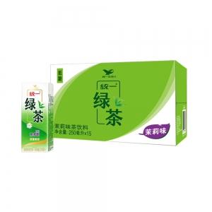 Uni-President 统一 绿茶饮料 250ml*15盒