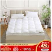 Bliss 百丽丝家纺 纯棉鹅毛床垫 1.8m386.1元