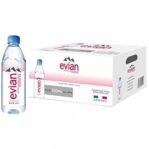 88VIP:evian 依云 天然矿泉水 500mlx24瓶 *3件