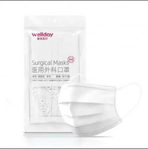 WELLDAY 维德 一次性医用外科口罩 灭菌级 10只装*9件